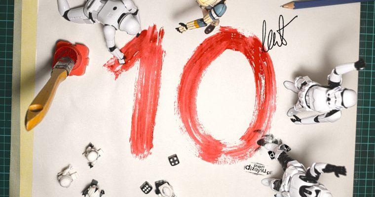 10 LAT MINĘŁO